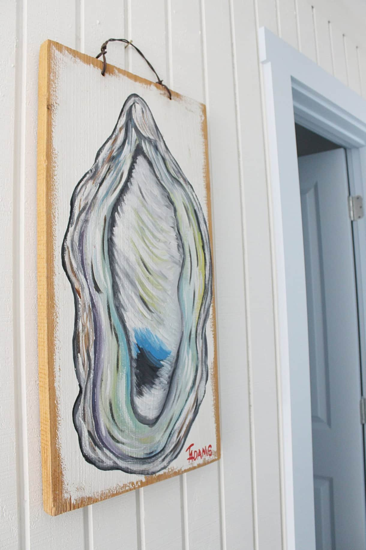 Oyster Painting (Locally sourced art)