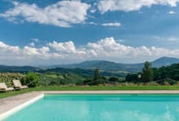 Great views at Villa La Ginestra