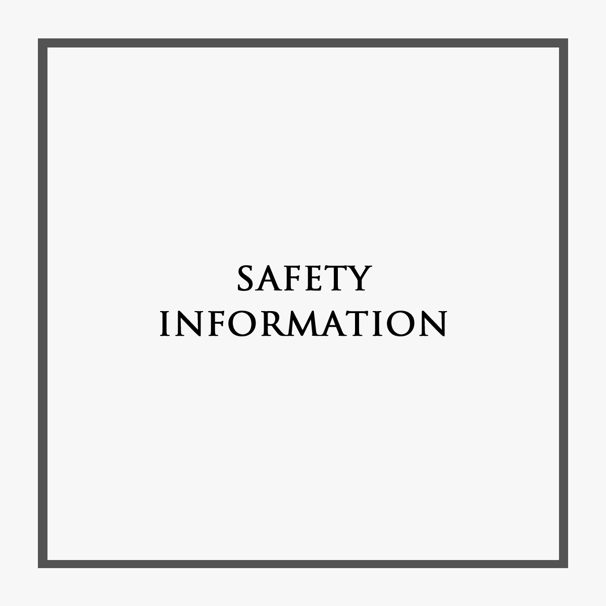 Castle Rock Safety Information