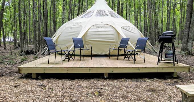 Luxury Tent & Campsite Info