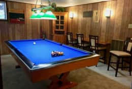 Pool table for some fun and games!