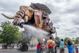 The machine island - Famous activity of Nantes
