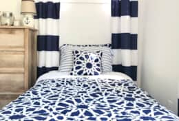 Twin bed bedrooms #3 & #4