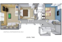 Floor plan 2nd level