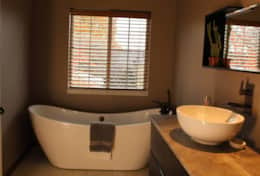 large soaking tub in master bath