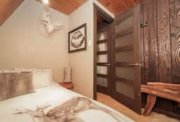 2nd Bedroom - The smaller of the bedrooms, a double bed can comfortably sleep 2 people