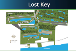 Lost Key Site Map