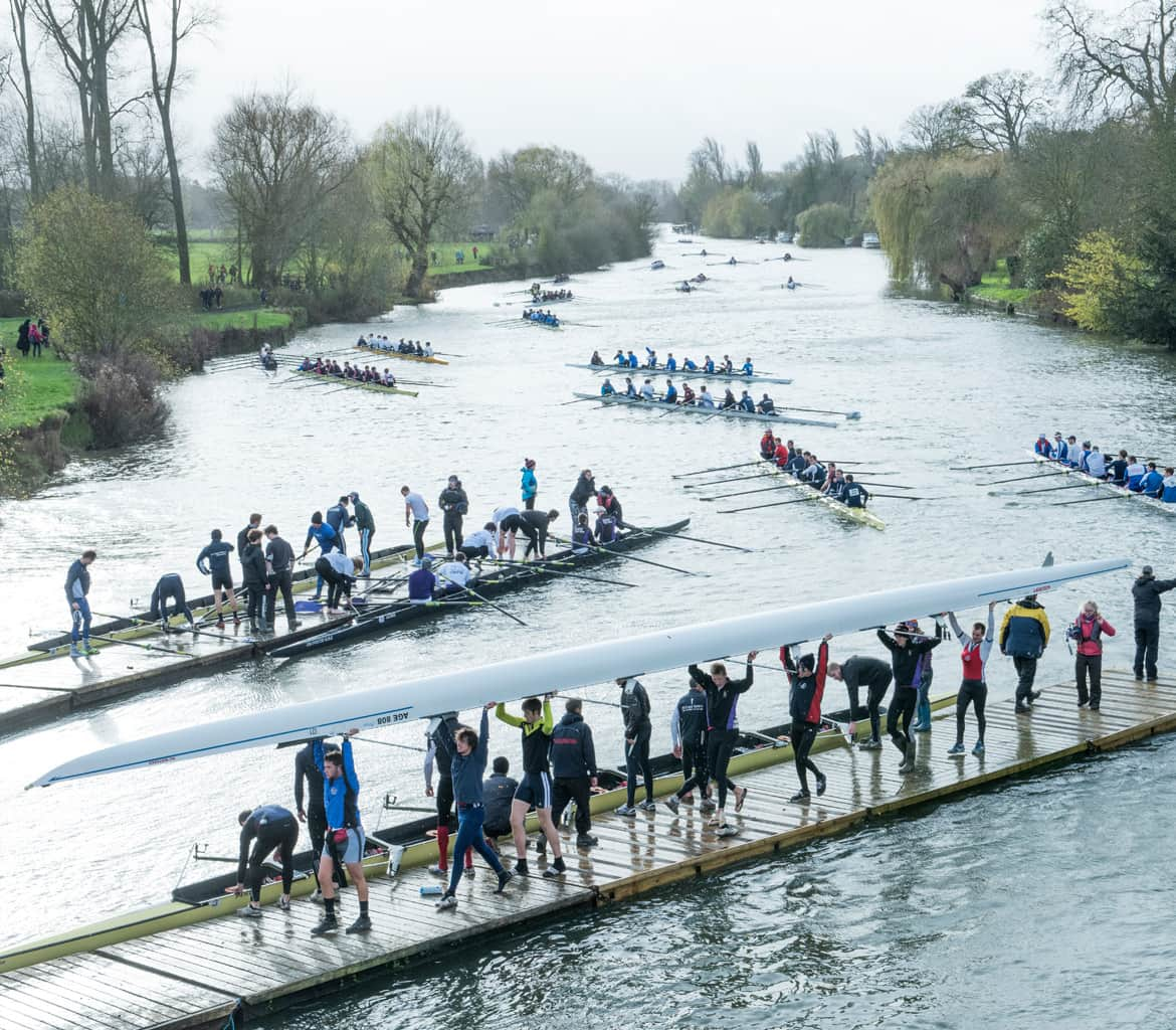 Wallingford head of the river rowing regatta
