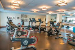 Fitness Center in the SP Clubhouse