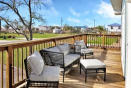 Enjoy the breeze on the spacious deck