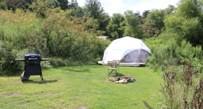 Dome 1---Min Stay 2 nights - Camping in Asheville