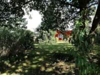 Sommerhäuschen im Garten