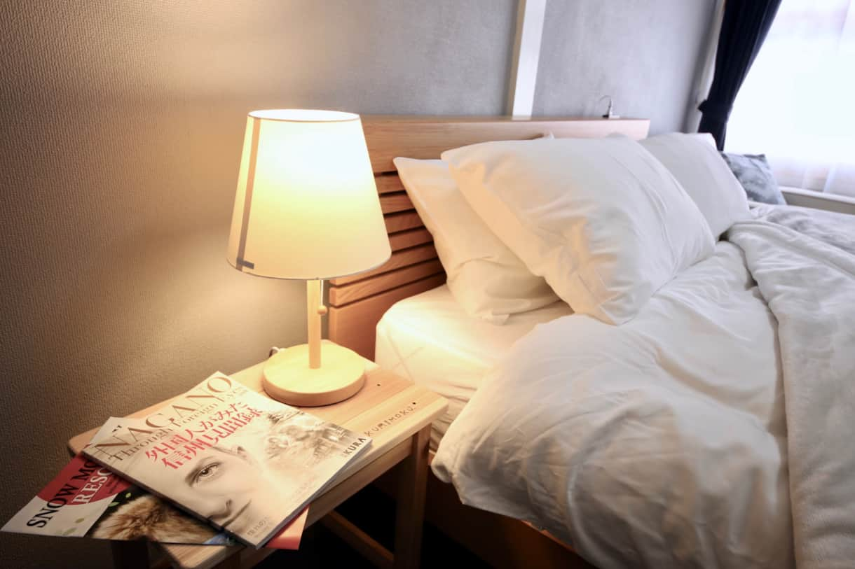 All our guestrooms have heaters and plenty of closet space. Make yourself at home!