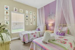 Fairytale becomes a reality in this magical princess room!