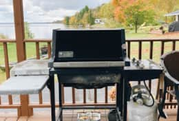 Grill on the Deck