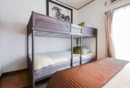 Bedroom 1  Tokyo Family Stays | Yoyo house| Family friendly accommodation |
