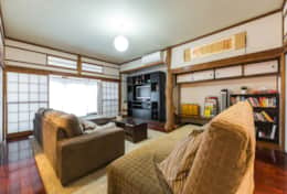 Living space |Samurai House Tokyo Family Stays |Spacious