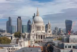 St pauls at the heart of the city of london graham lacdaost pauls cathedral