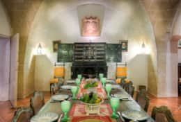 Vaulted dining room - early 17th Century