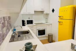 Kitchen apartment Jasmin Sitges