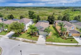 Situated privately in a quiet & gated community