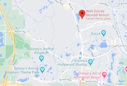 Windsor Hills is VERY CLOSE to the Disney parks!