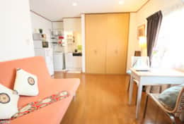 Living space, extra bed | Fuji House| best family stays in Tokyo | Tokyo Family Stays|