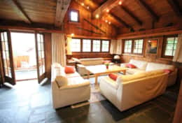 Chalet Runca Living Room