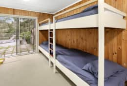 Bunk room - The River House Gipsy Point - Good House Holiday Rentals