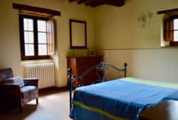 Ground floor bedroom in the main villa