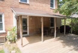 Covered Deck, Bridge Street - Welcome to the Dans' vacation rental homes in Prince Edward County