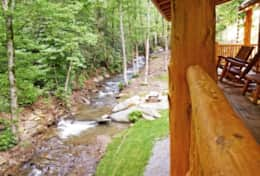 Hideaway at High Rock Cabin 07