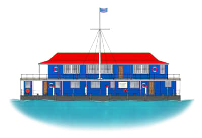 The Harpy Houseboat