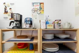 Fully equipped kitchen |Submarine House| Tokyo Family Stays |Spacious |
