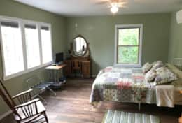 2nd floor lake view bedroom
