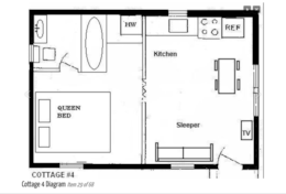 Cottage 4 Diagram