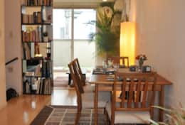 Dining Space| Martial's| Tokyo Family Stays| Centrally located Townhouse