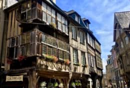 One of the best preserved small towns in Brittany