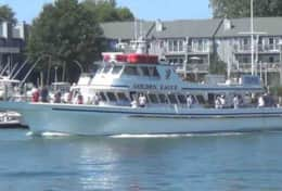 Fishing charter boats are available for rent at the marina