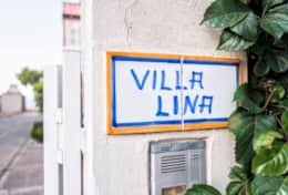 Entrance of the beautiful, safe, relaxing Villa Lina