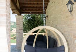 Relax in our hanging chairs