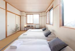 Nozawa Peaks - Quad room with view and private toilet