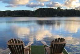 Your private dock on the pond