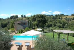 Bellavista farm holiday near Todi in Umbria