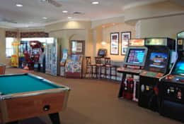 Windsor Hills Clubhouse arcade