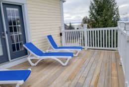 Deck catch some rays