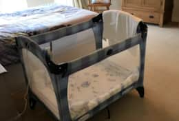 Travel Cot & Highchair can be provided at no extra charge