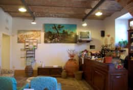 Borgo Trevine, bar at the agriturismo