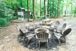 Fire Pit in Common Area