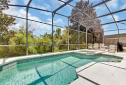 Take a dip in this south facing, sparkling pool! Soak up under the sun in your very own private pool